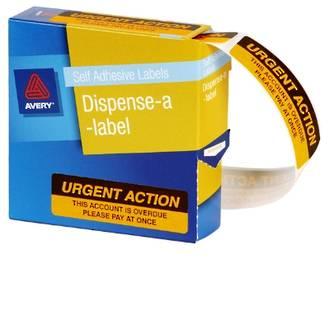 Avery DMR1964R2 Urgent Action Labels