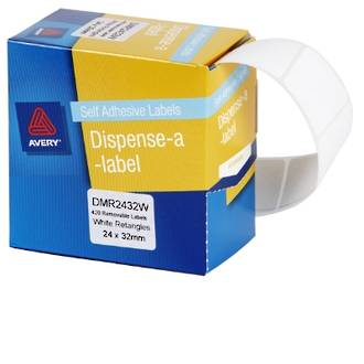 Avery DMR2432W 24x32mm Rectangle Labels
