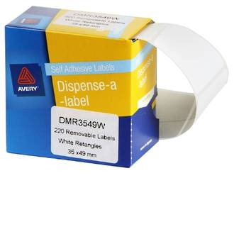Avery DMR3549W 35x49mm Rectangle Labels