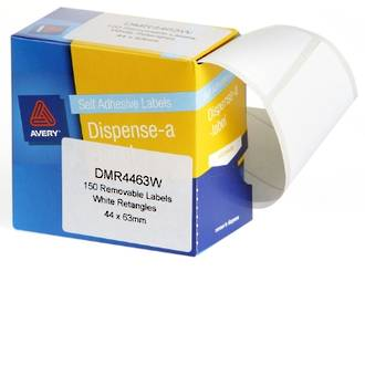 Avery DMR4463W 44x63mm Rectangle Labels
