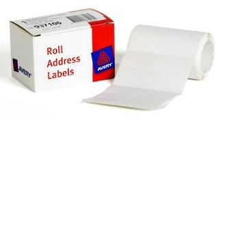 Avery DMR8924RA Roll Address 89x24mm Labels
