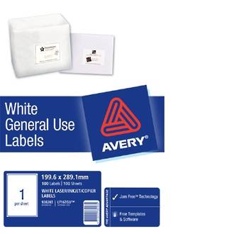 Avery L7167 General Use (Dl1) 200x289mm