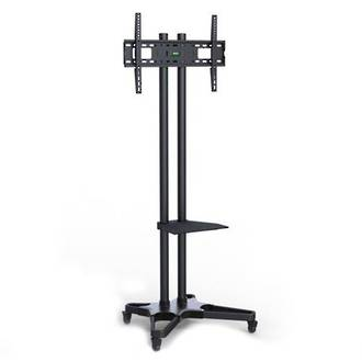 "BRATECK LCD-T1021B TV Stand 37-65"" Adjustable"