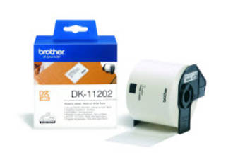 Brother DK11202 White Shipping 62x100mm