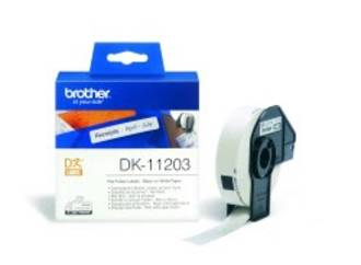Brother DK11203 White File Folder 17x87mm