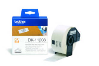 Brother DK11208 White Large Address 38x90mm