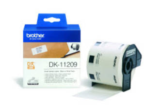 Brother DK11209 White Small Address 29x62mm