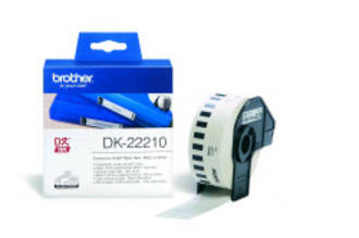 Brother DK22210 White Continuous Length Label 29mm x 30m