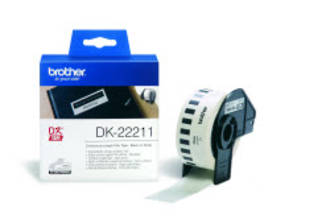 Brother DK22211 White Continuous Length Label 29mm x 15m