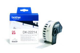 Brother DK22214 White Continuous Length Label 12mm x 30m