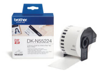 Brother DKN55224 White Continuous Length Paper Roll 54mm x 30m