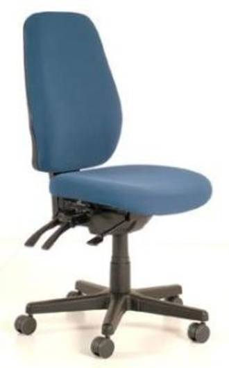 Buro Aura Ergo+ Chair High Back Jett Fabric