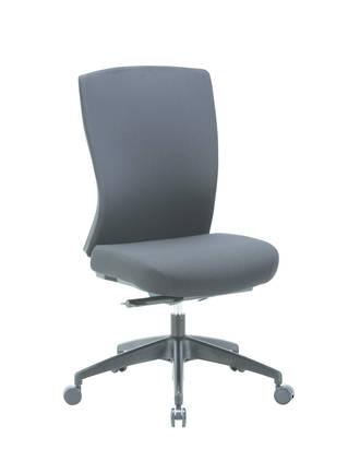 Buro Mentor Executive Chair, Upholstered Back, Nylon Base, No Arms
