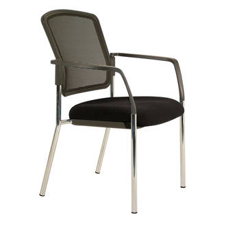 Buro Lindis Mesh Visitor Chair 4 Leg with Arms (RS)