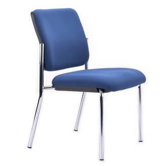 Buro Lindis Visitor Chair 4 Leg No Arms