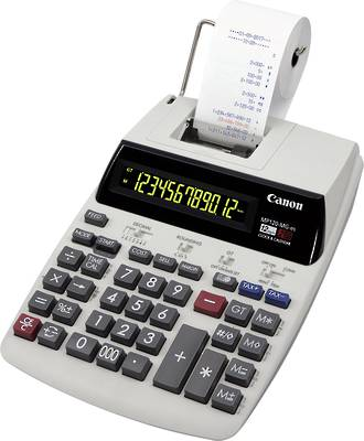 Canon MP120-MGESII 12 Digit 2 Colour Print Calculator