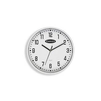 Carven Wall Clock 22.5cm White