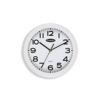 Carven Wall Clock 25cm White