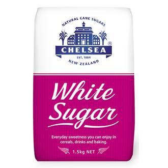 Chelsea White Sugar 1.5kg bag