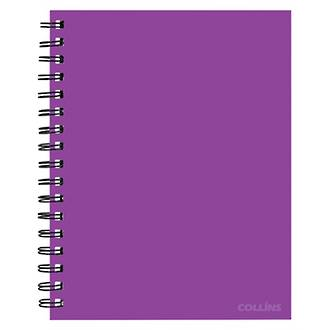 Collins Notebook Wiro A5 Passion Purple