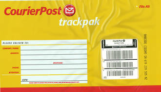 CourierPost TrackPak Signature Fits A4
