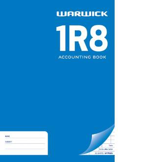 Warwick Exercise Book 1R8 3M/C