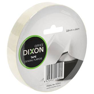 Dixon General Purpose Tape 18mmx66m