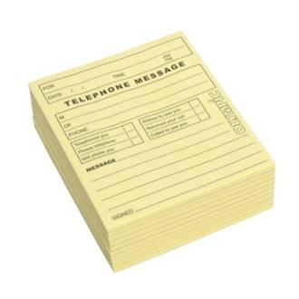 Olympic Message Pad Yellow