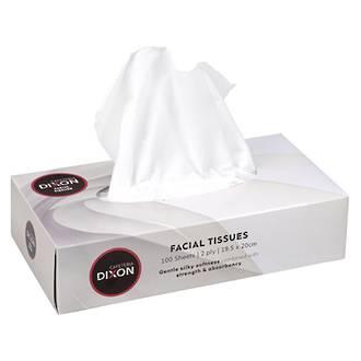 Dixon Facial Tissue 2ply Bx 100