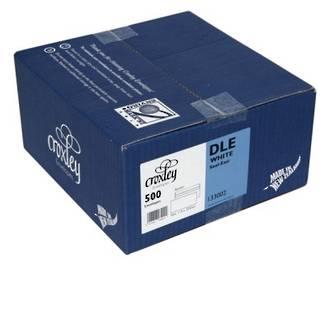Croxley Env DLE Non Window White SE Box