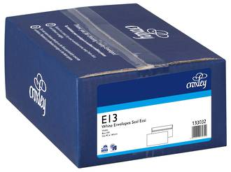 Croxley Env E13 White Seal Easi Non Window Box 500