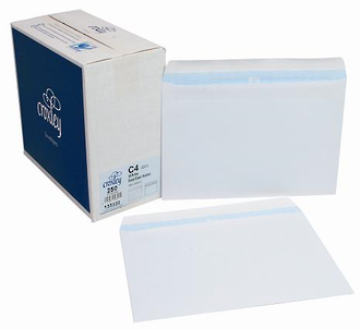 Croxley Env C4(E31) White SE Box 250