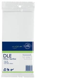 Croxley Mail DLE Non Window White SE Prepaid Pkt 100