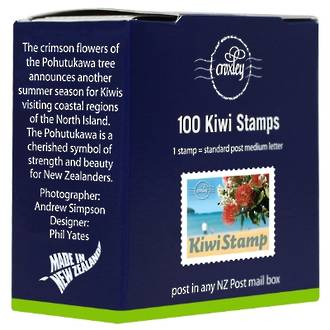 NZ Post/Croxley Mail Kiwi Stamp Bx 100
