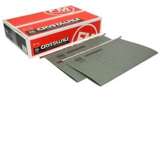 FM Crystalfile Suspension File Foolscap Box 50