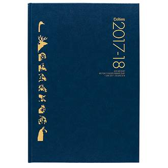 Collins Farming Year Diary A5 2 Days per Page Odd/Even Year