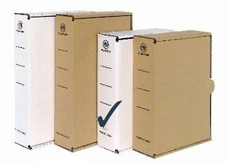 FM Storage Carton A4 White