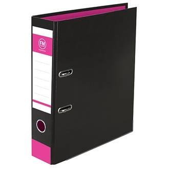 FM Vivid Black Lever Arch File A4 - 4 Colours