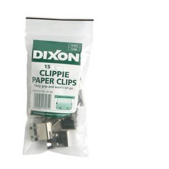 Clippie Slide Paper Clip Small Pk 15