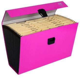 FM Vivid Expanding File Pink