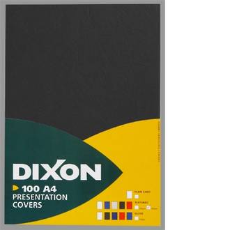Dixon Cover Textured Black 100 Pack