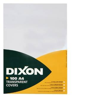 Dixon Cover Clear (0.15) Lightweight 100 Pack