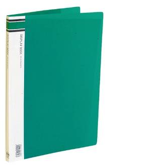 FM Display Book A4 Green 20 Pocket