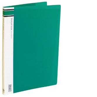 FM Display Book A4 Green 30 Pocket