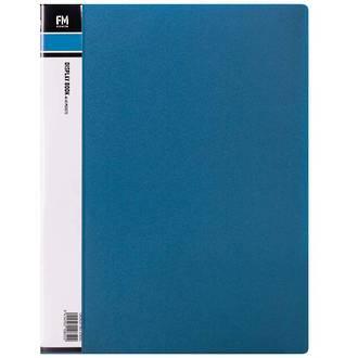 FM Display Book A4 Blue 40 Pocket