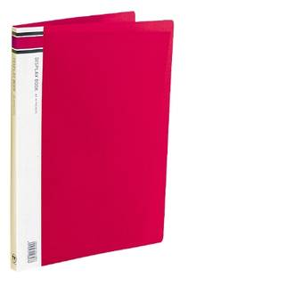 FM Display Book A4 Red 40 Pocket