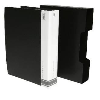 FM Display Book A4 Black 80 Pocket