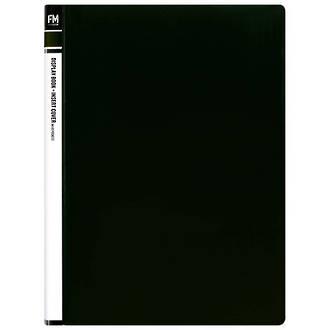 FM Display Book Black 40 Pocket Insert Cover