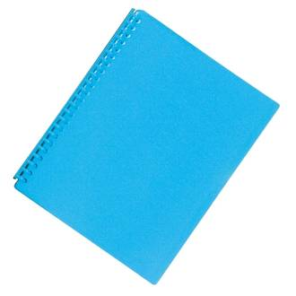 FM Refillable Display Book Vivid Ice Blue 20 Pocket