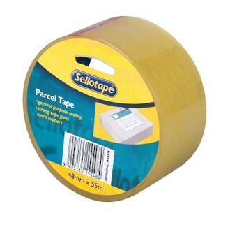 Sellotape Packaging Tape Clear 48mmx55m